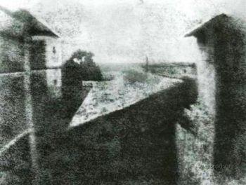 Prima fotografie facuta vreodata - 1826
