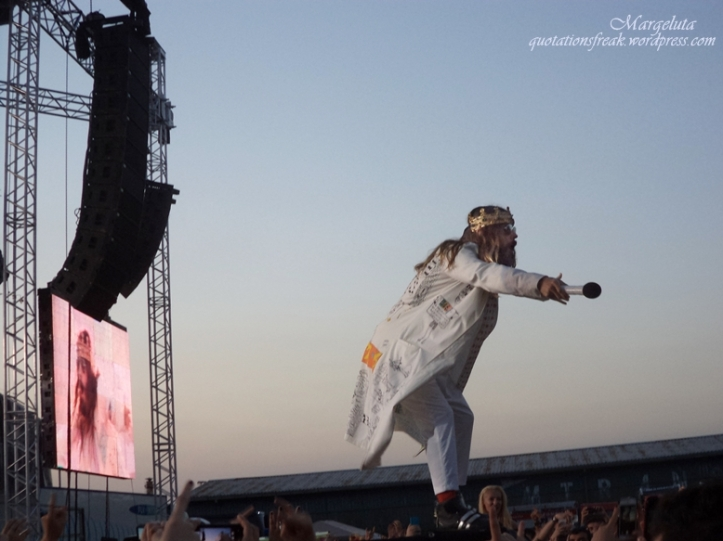 concert jared leto in bucharest